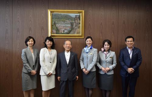 近畿大学表敬訪問.jpgのサムネイル画像